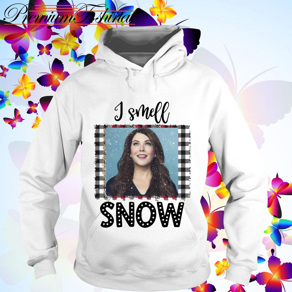 Christmas Gilmore Girls Lorelai I smell snow Hoodie