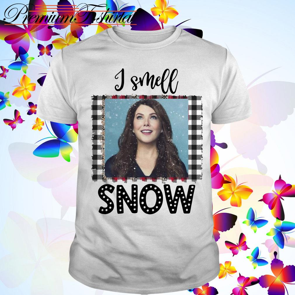 Christmas Gilmore Girls Lorelai I smell snow guys shirt