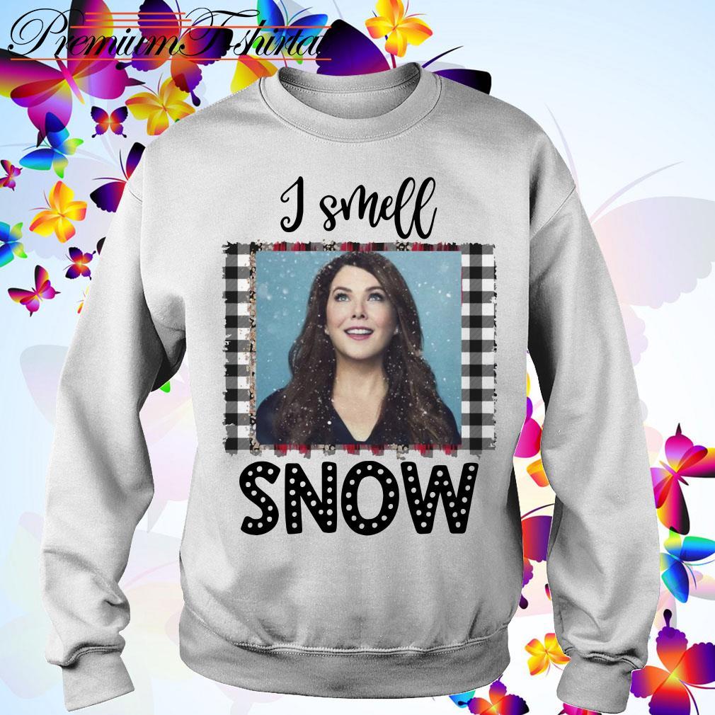 Christmas Gilmore Girls Lorelai I smell snow shirt, sweater