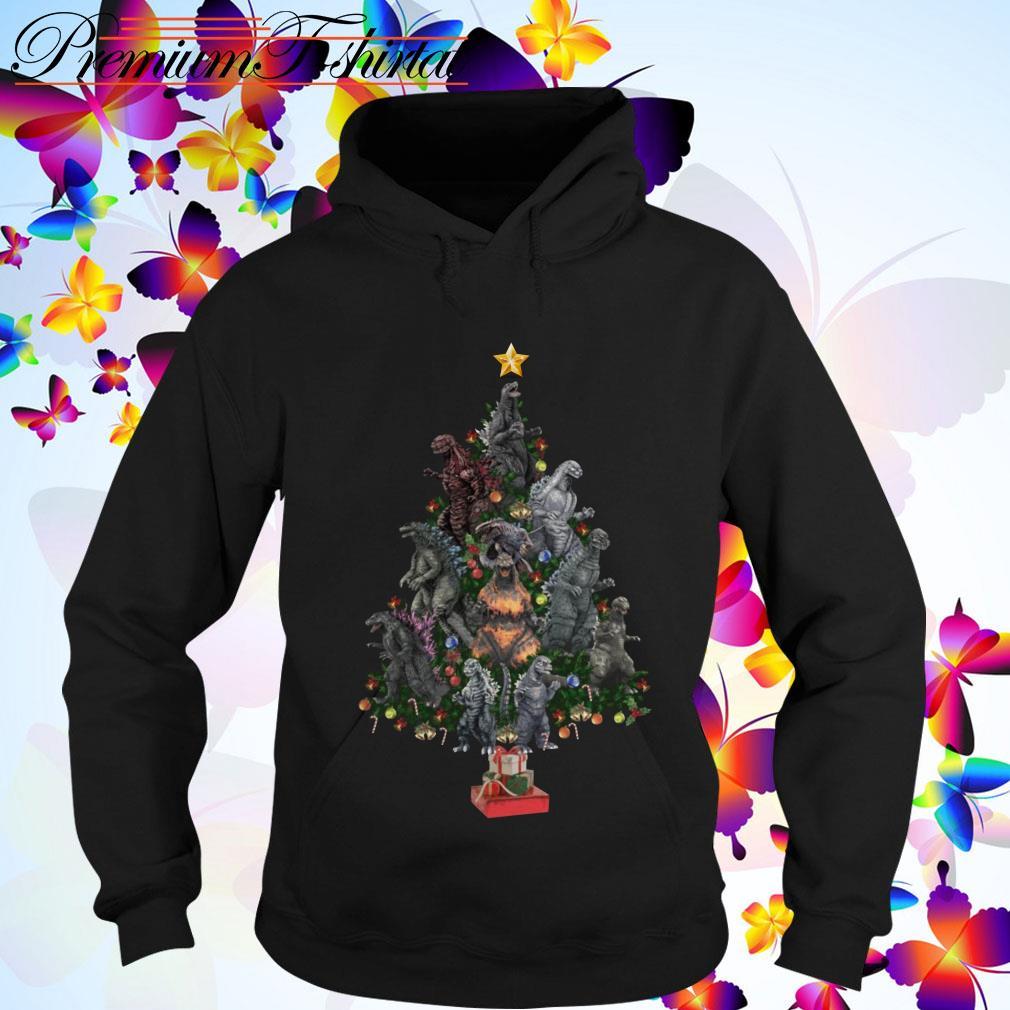 Dinosaur Christmas Tree Hoodie