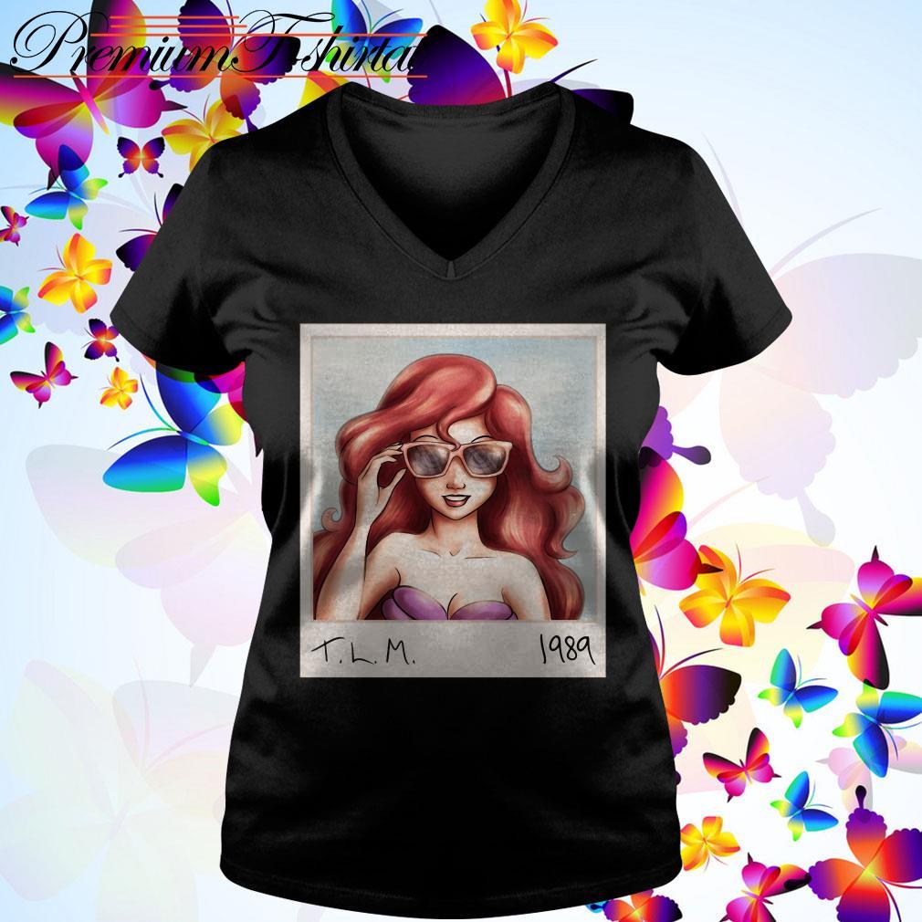 Disney Princess Ariel T.L.M 1989 V-neck T-shirt