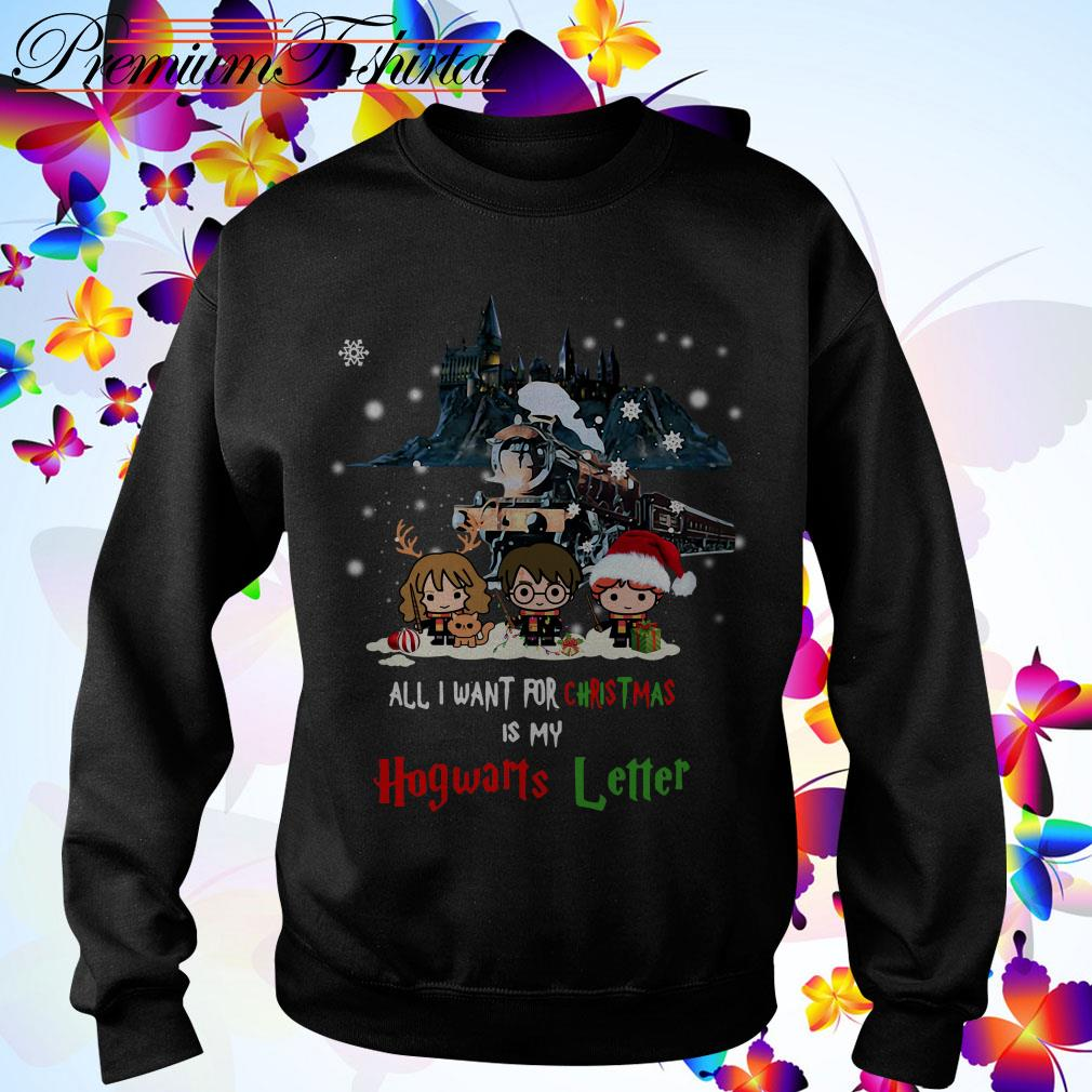 Harry Potter all I want for Christmas is my Hogwarts Letter shirt, sweater
