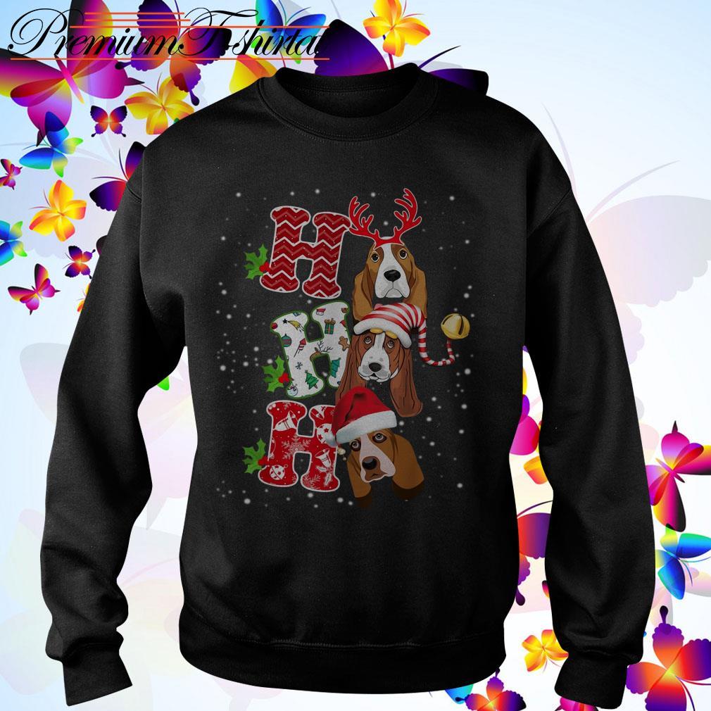 Ho Ho Ho St. Bernard Christmas shirt, sweater