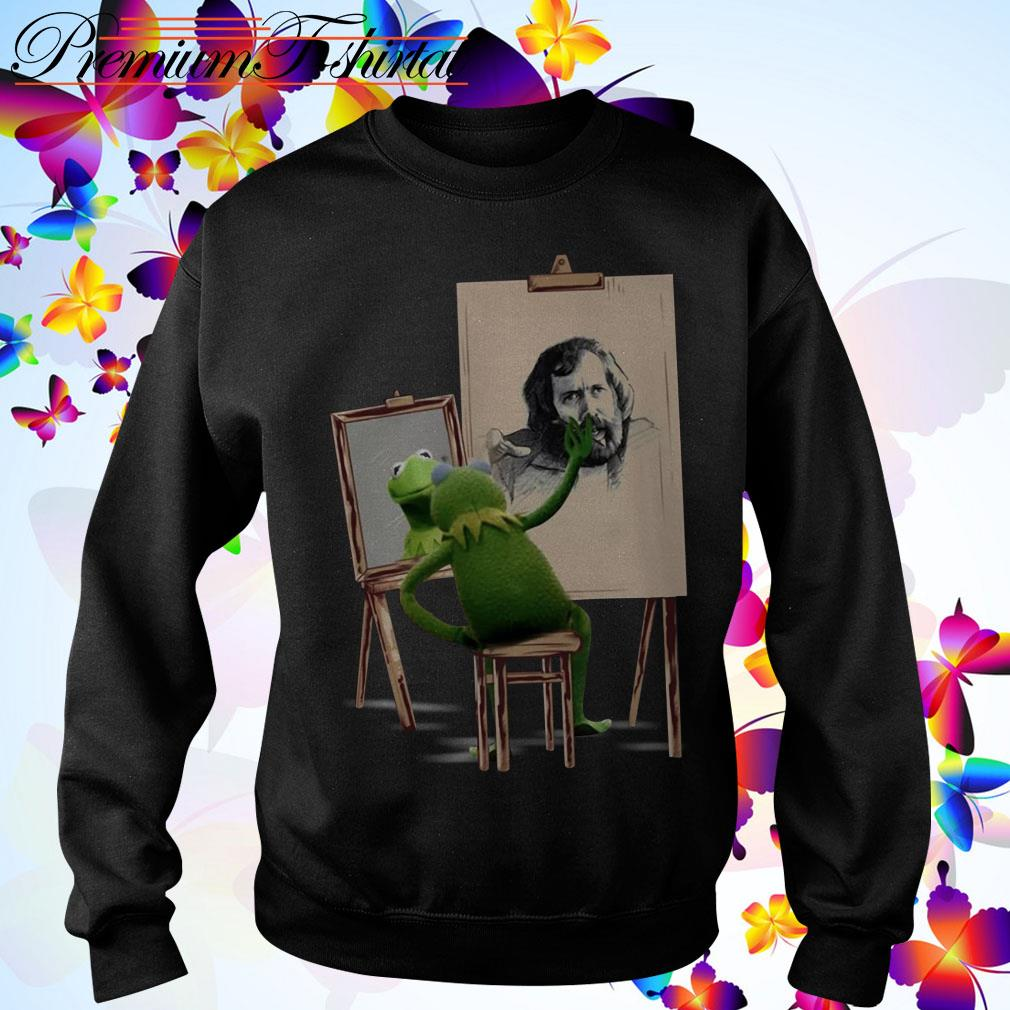 Kermit The Frog painting Jim Henson Sweater