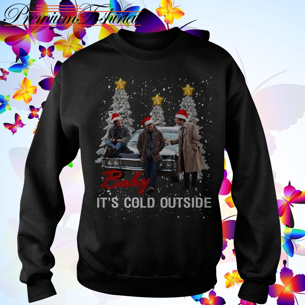 Supernatural baby it's cold outside Christmas shirt, sweater