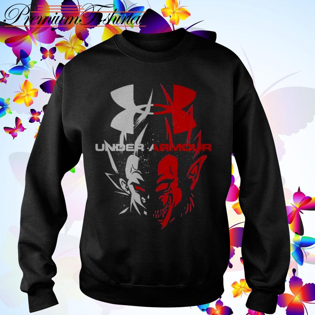 Vegeta Dragon Ball Z Under Armour Shirt Sweater Hoodie