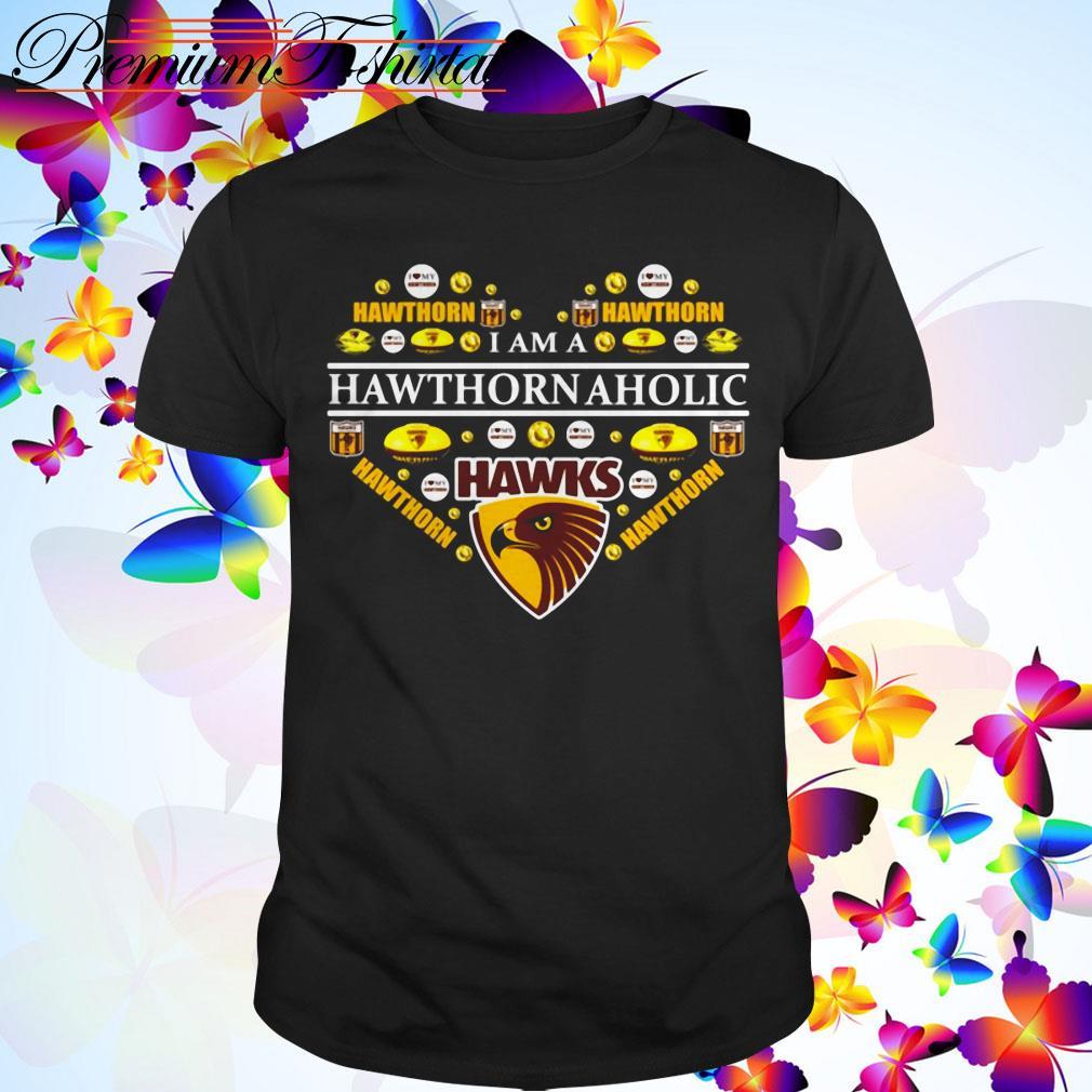 Hawthorn Football Club Hawthorn Aholic Heart shirt