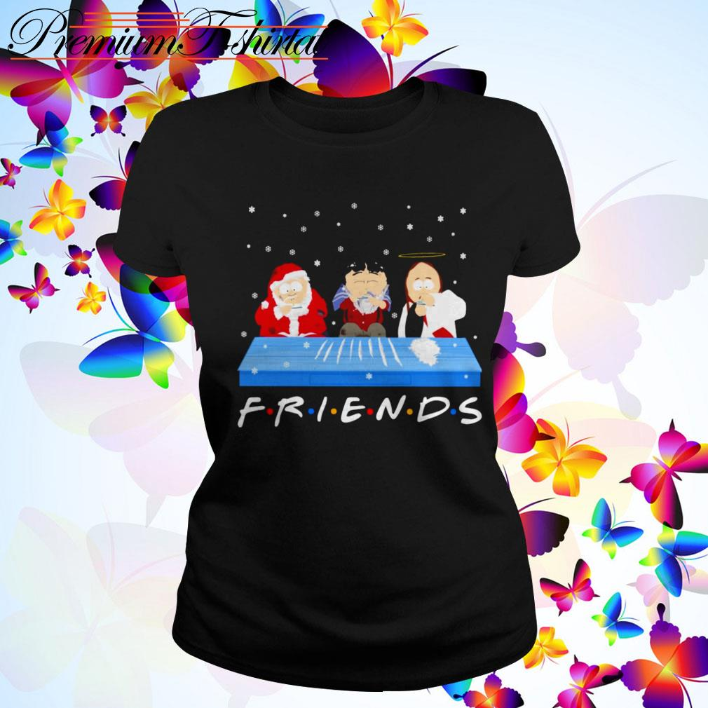 Tegridy Farms doing Cocaine Friends TV show Ladies Tee