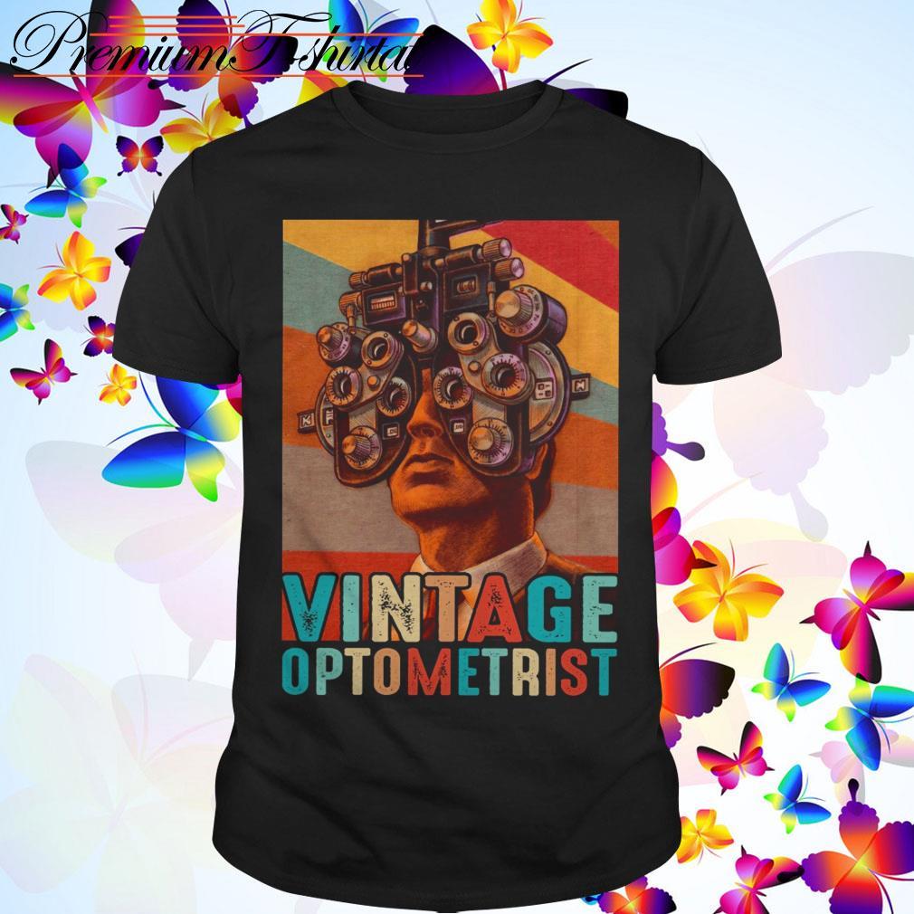 Vintage optometrist shirt