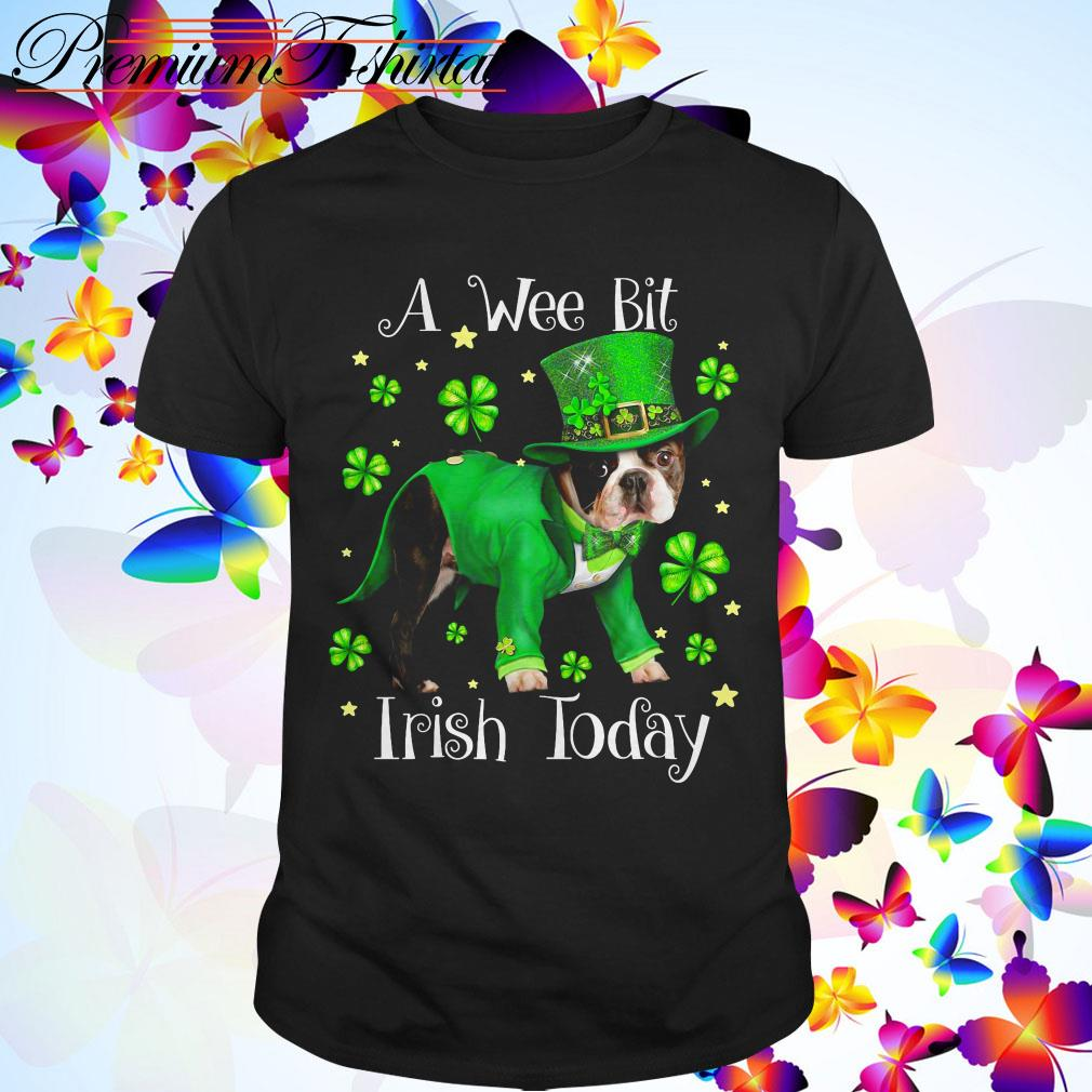 Clickbuypro Unisex Tshirt Pitbull A Wee Bit Irish Today St Patricks Day Shirt Sweater Forest Green M