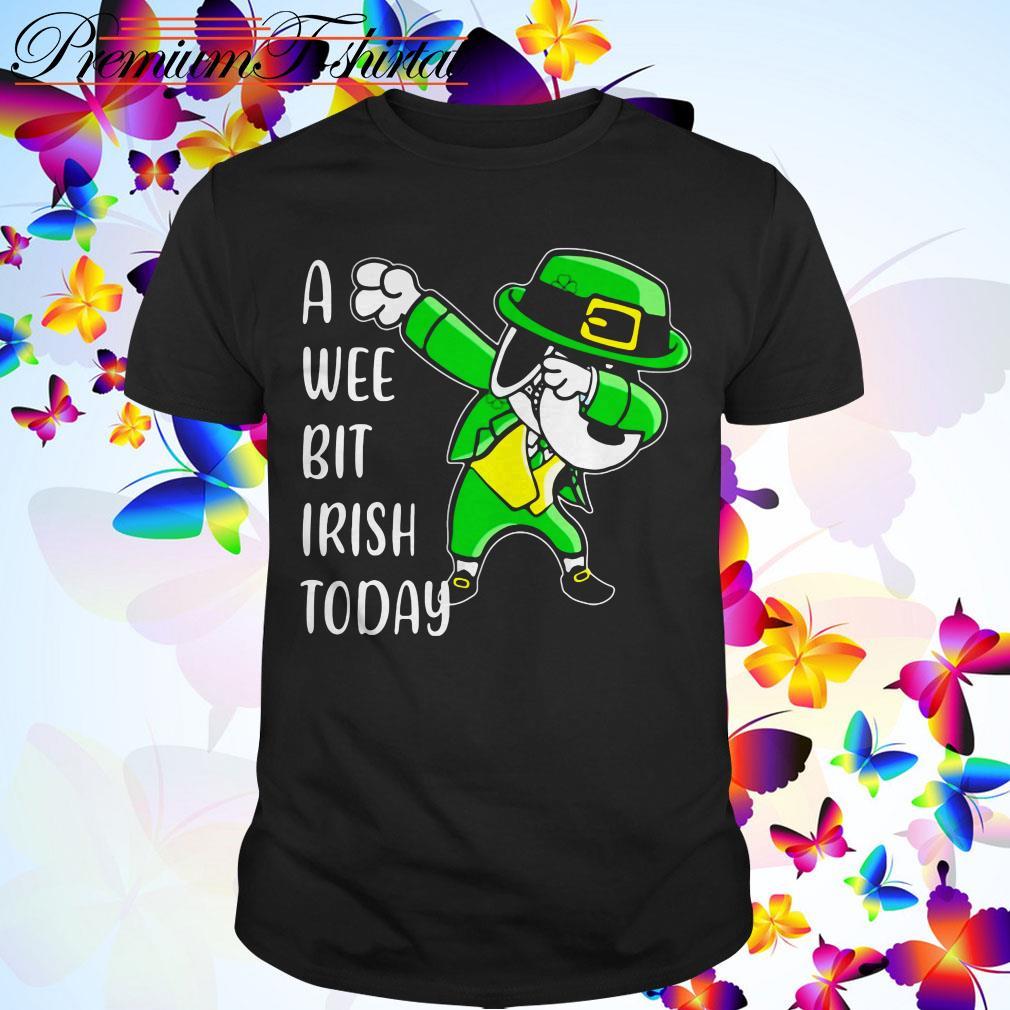 Clickbuypro Unisex Tshirt Snoopy A Wee Bit Irish Today St Patricks Day Shirt Hoodie Black M