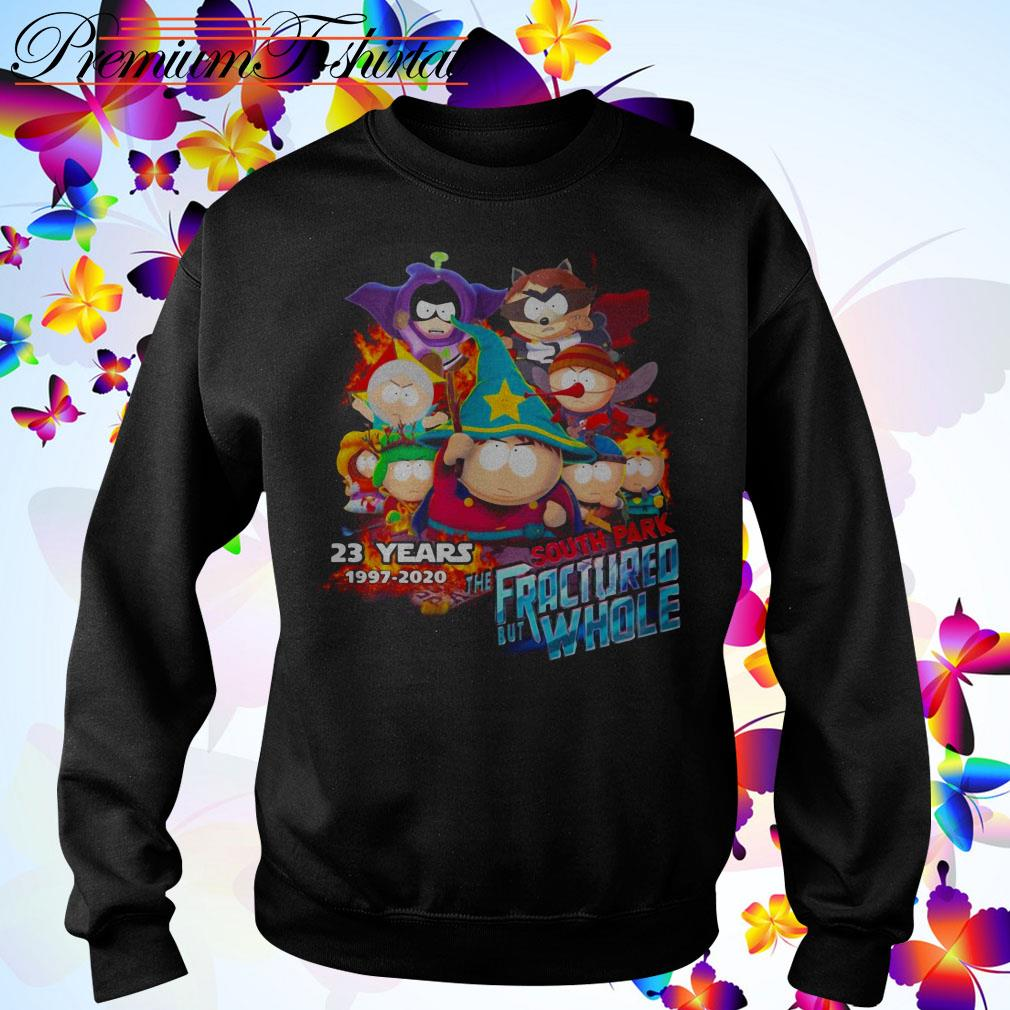 23 Years South Park the Fractured But Whole 1997-2020 Sweater