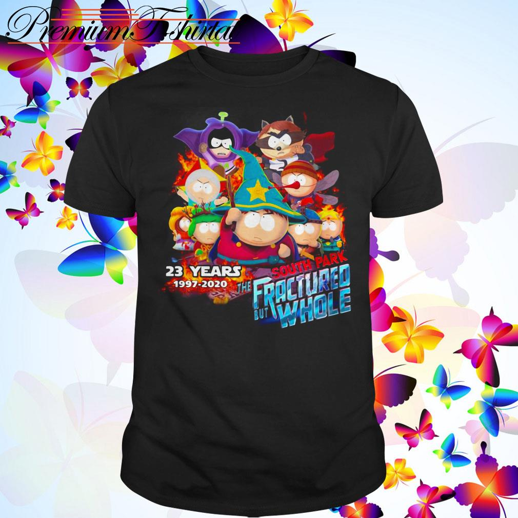 23 Years South Park the Fractured But Whole 1997-2020 shirt