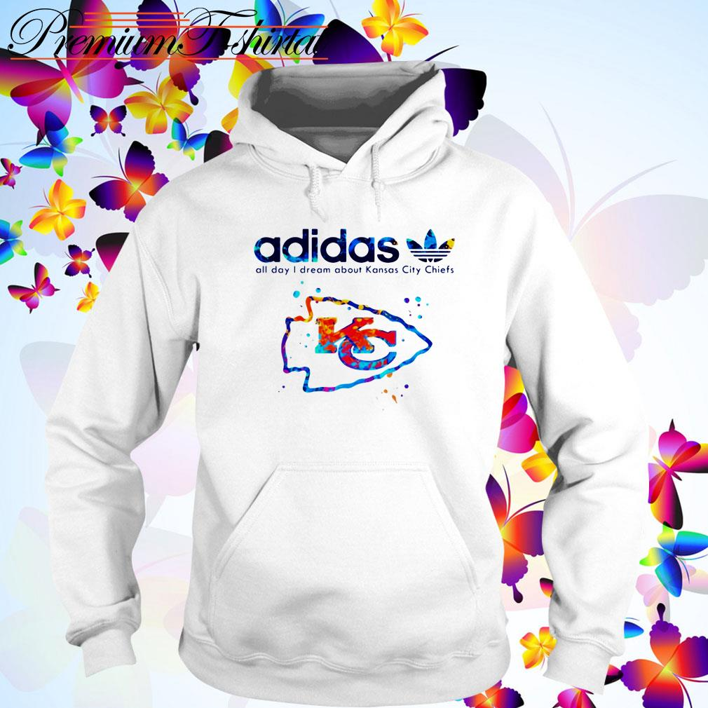 Adidas all day I dream about Kansas City Chiefs Hoodie