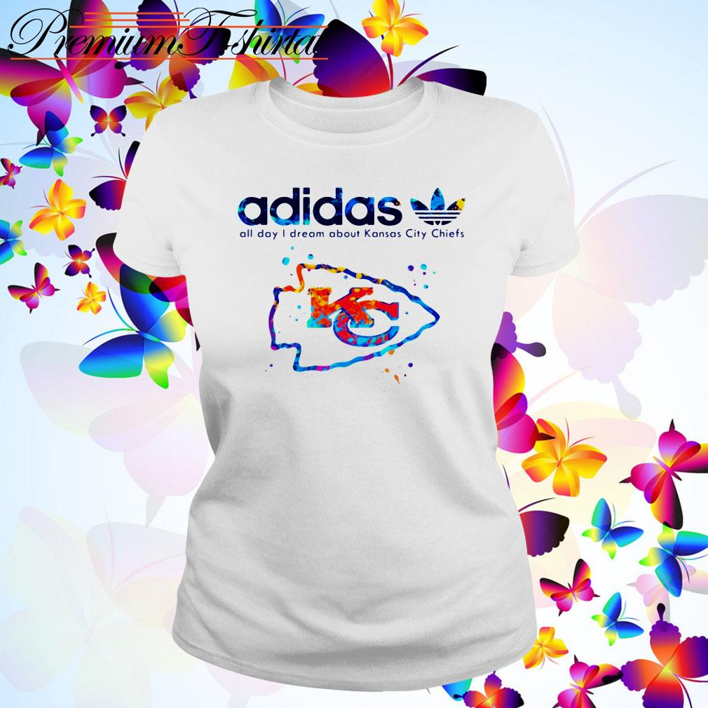 Adidas all day I dream about Kansas City Chiefs Ladies Tee