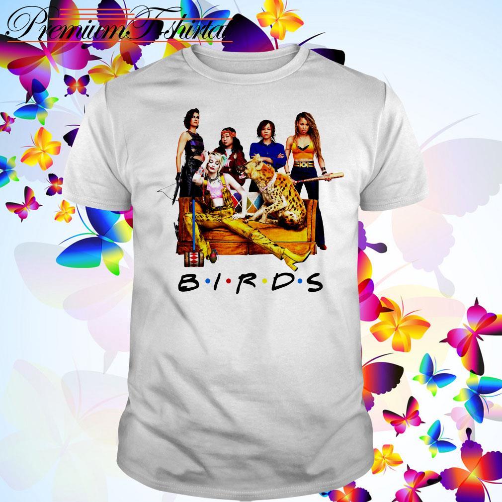 Birds of Prey Birds Friends TV show shirt