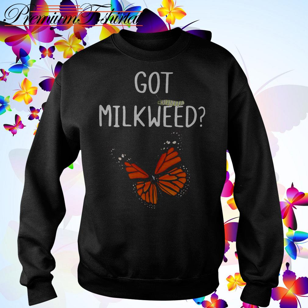 Butterfly Got milkweed Sweater