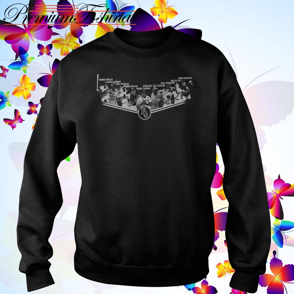 Chicago White Sox team signatures Sweater