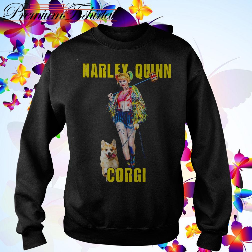 Harley Quinn Corgi dog Sweater