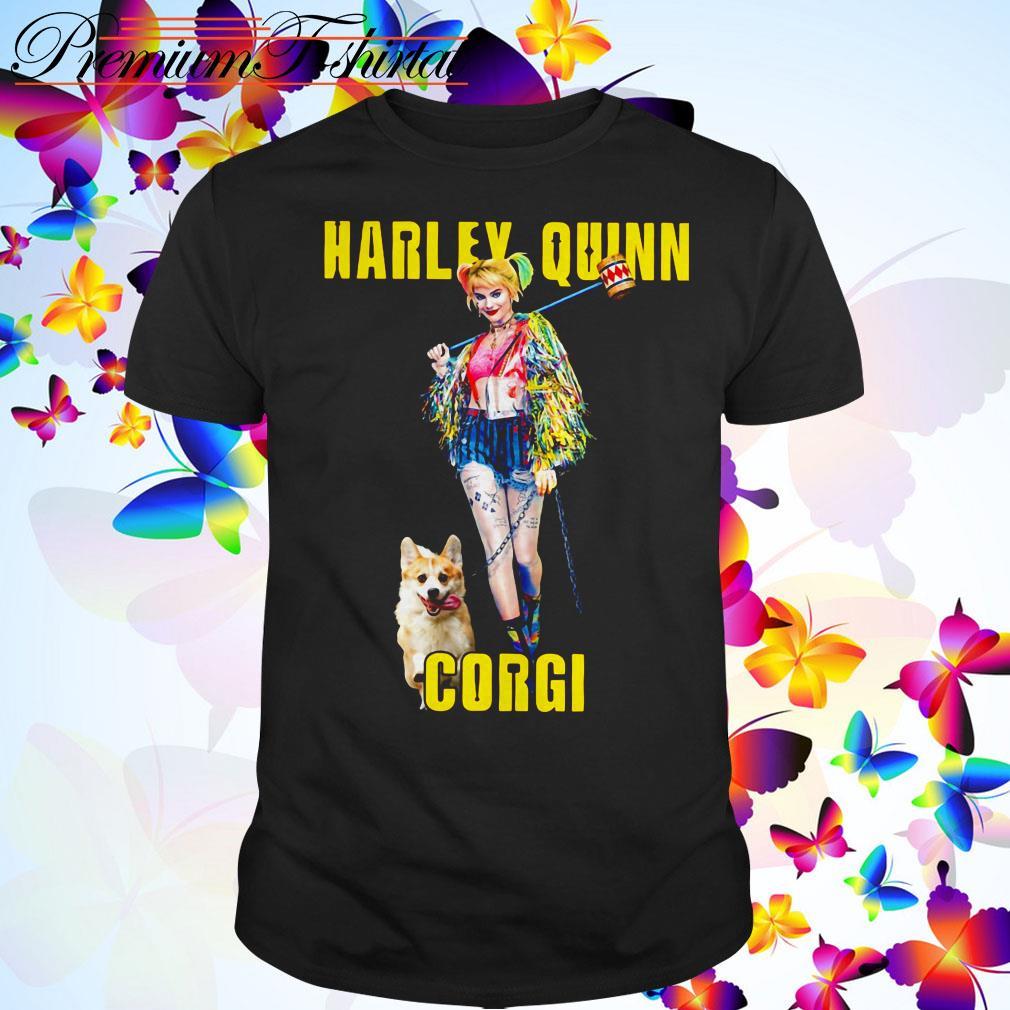 Harley Quinn Corgi dog shirt