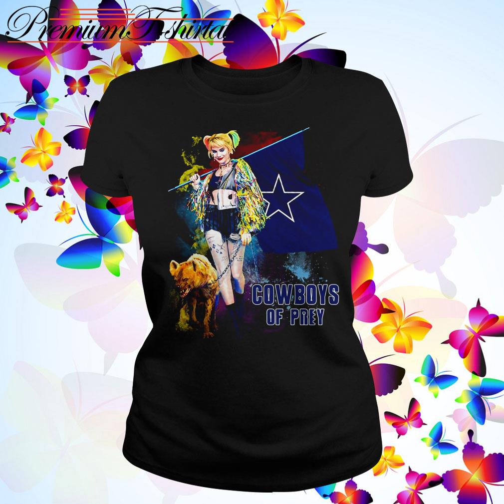 Harley Quinn Dallas Cowboy of Prey Ladies Tee