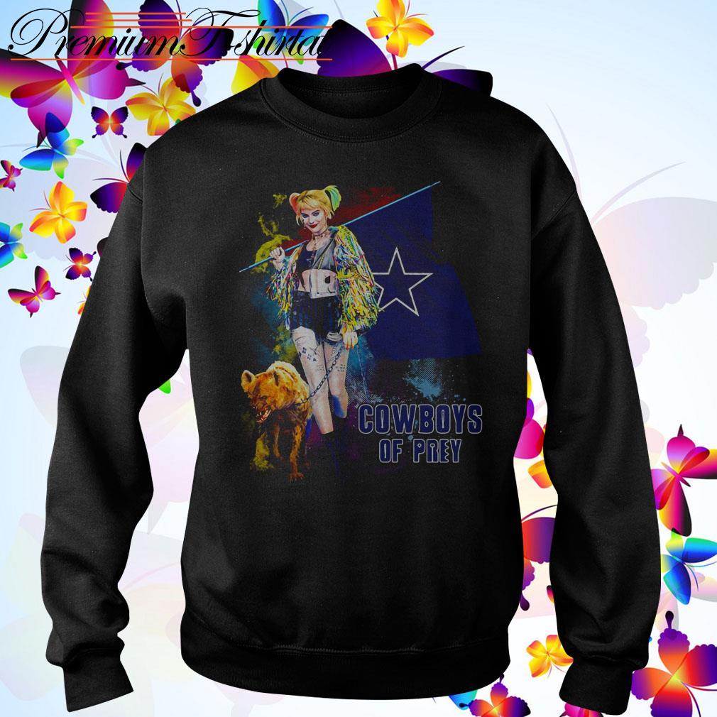 Harley Quinn Dallas Cowboy of Prey Sweater