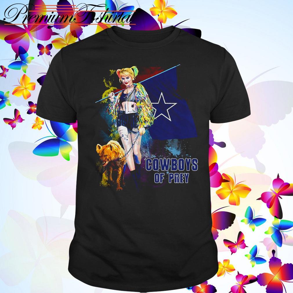 Harley Quinn Dallas Cowboy of Prey shirt