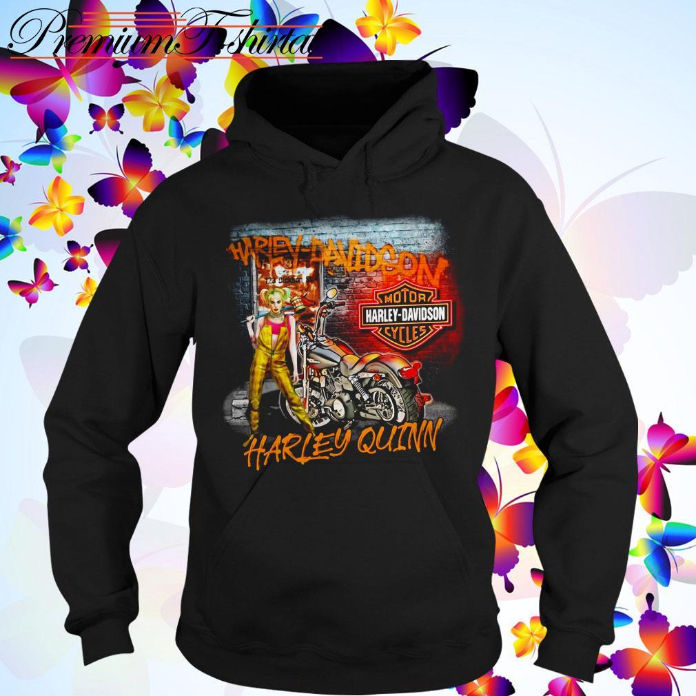 Harley Quinn Harley Davidson motorcycles Hoodie