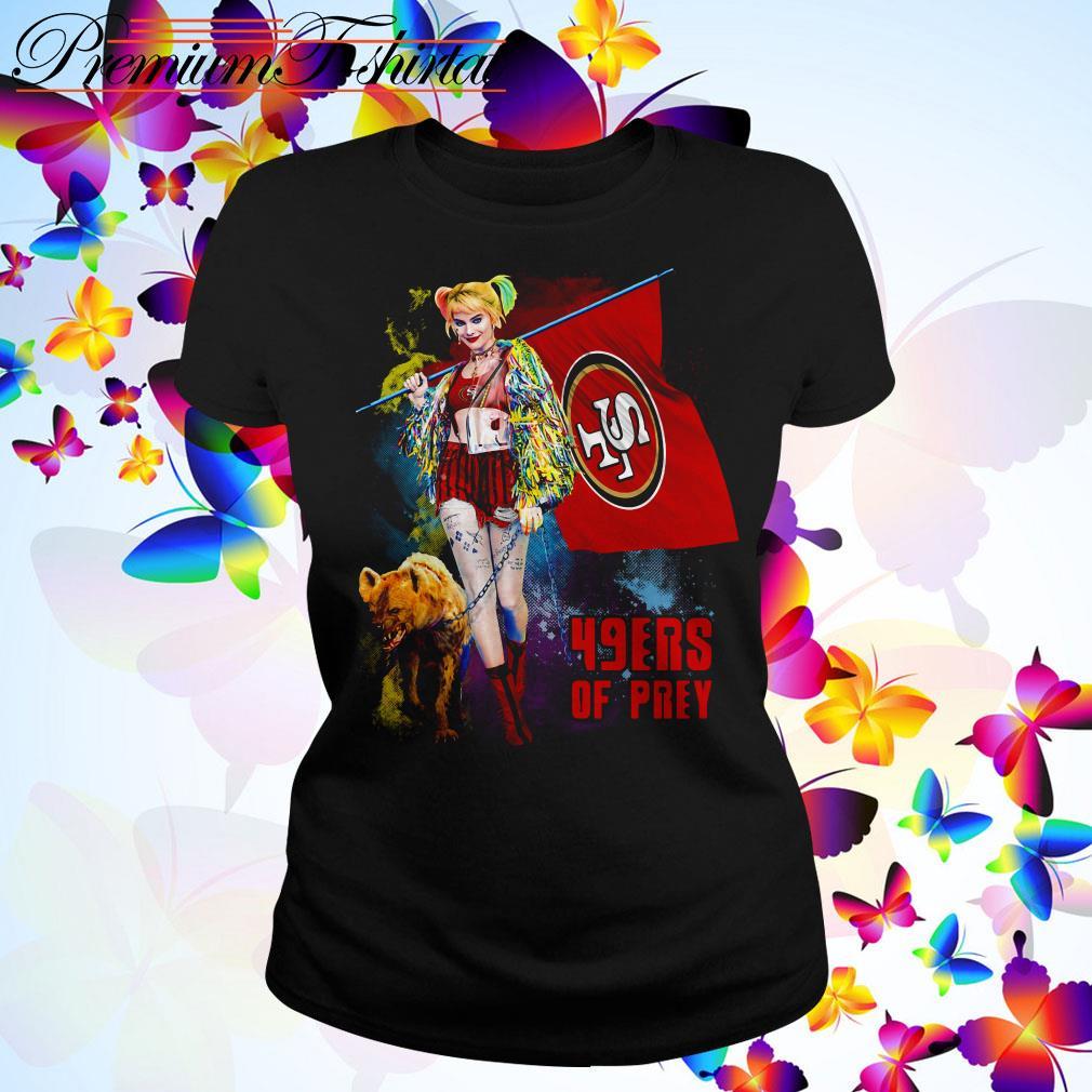 Harley Quinn San Francisco 49ers of prey 2020 Ladies Tee