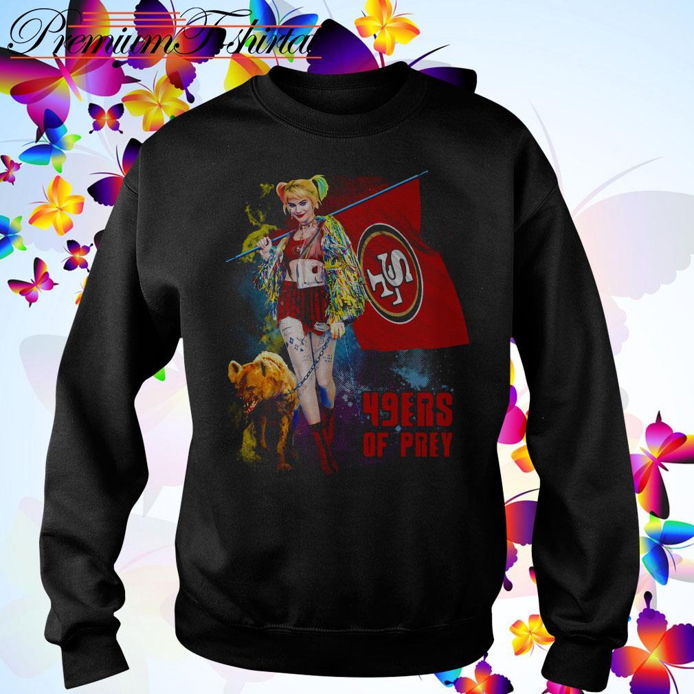 Harley Quinn San Francisco 49ers of prey 2020 Sweater