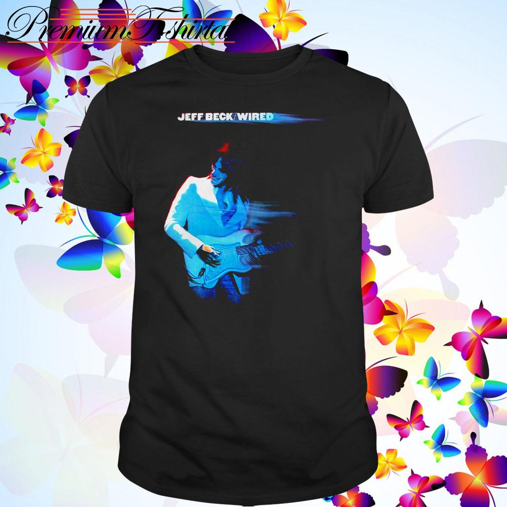 Jeff Beck Wired shirt