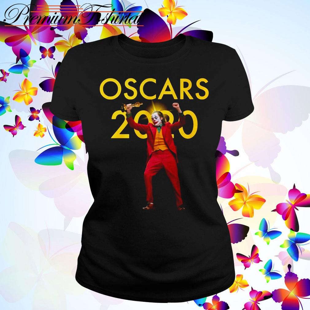 Joaquin Phoenix Joker Oscars 2020 Ladies Tee