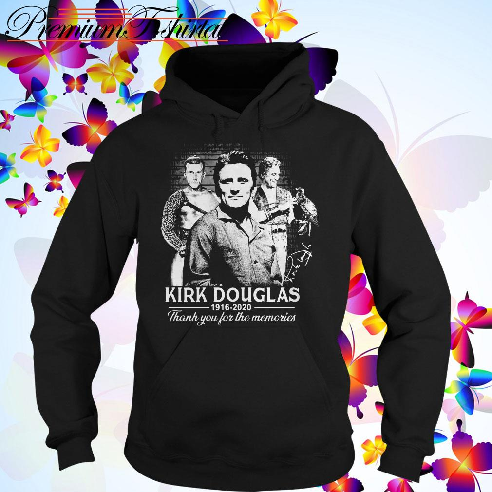 Kirk Douglas 1926 2020 thank you for the memories Hoodie