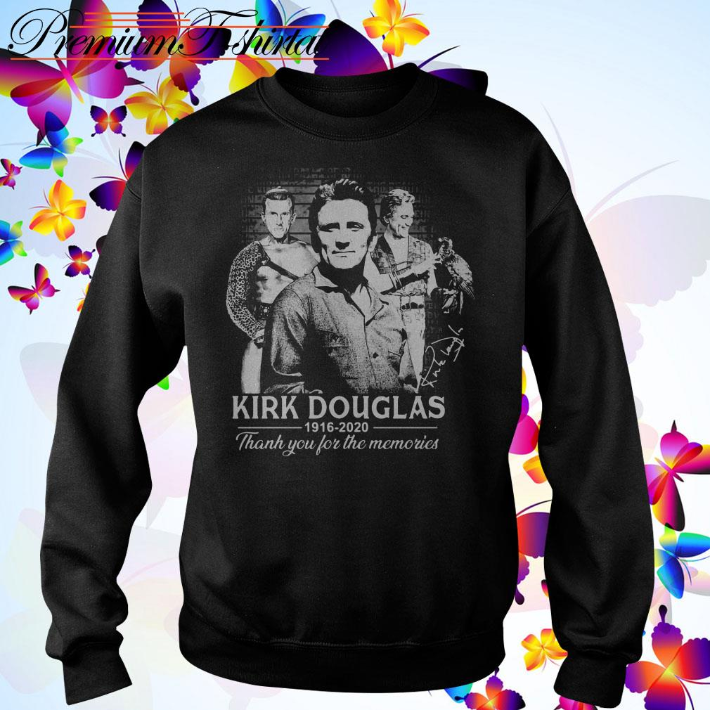 Kirk Douglas 1926 2020 thank you for the memories Sweater