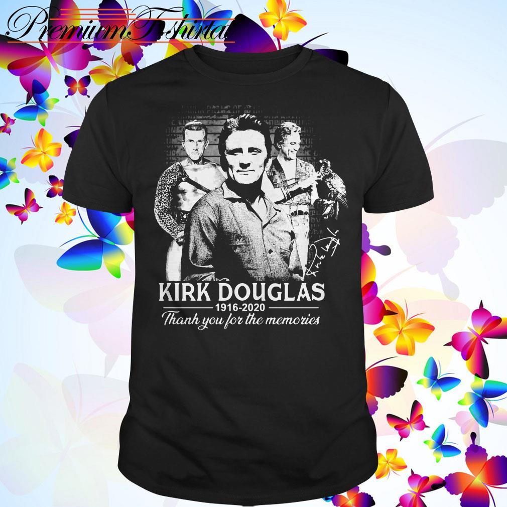 Kirk Douglas 1926 2020 thank you for the memories shirt