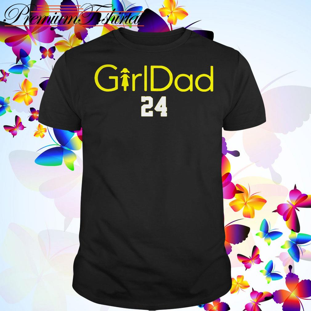 Kobe Bryant girldad 24 shirt