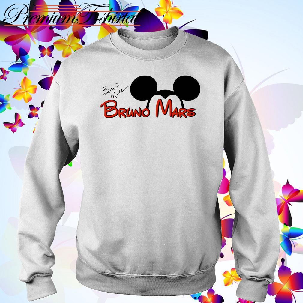 Mickey Mouse Bruno Mars signature Sweater