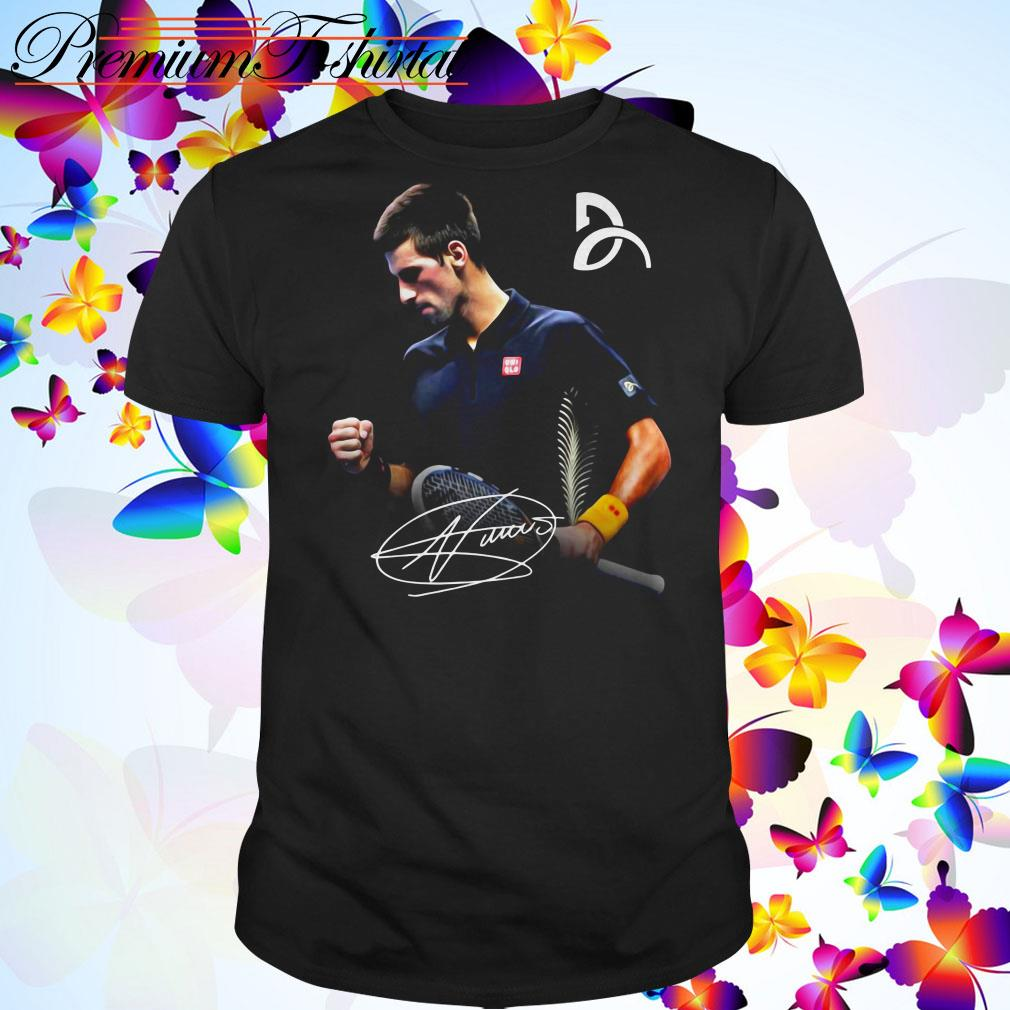 Novak Djokovic Signature Shirt Sweater Hoodie And Ladies Tee