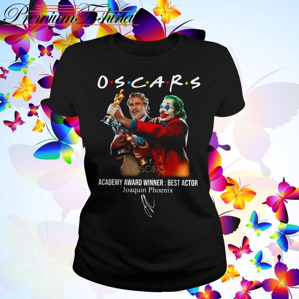 Oscars Academy Award Winner best actor Joaquin Phoenix Ladies Tee