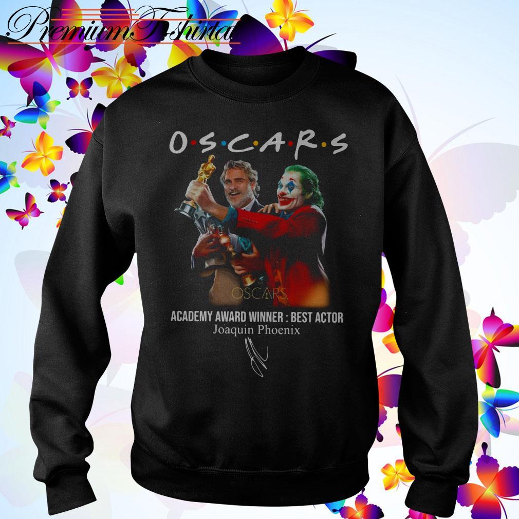 Oscars Academy Award Winner best actor Joaquin Phoenix Sweater