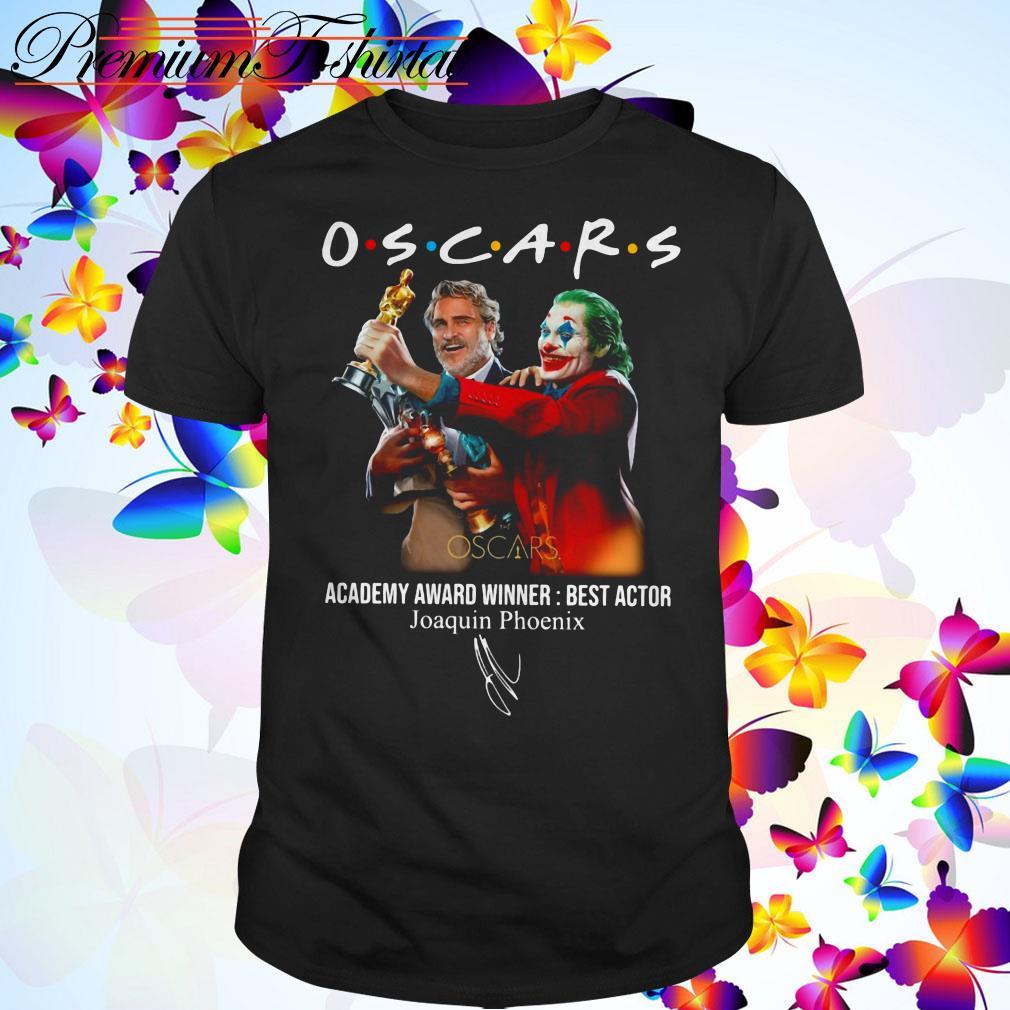 Oscars Academy Award Winner best actor Joaquin Phoenix shirt