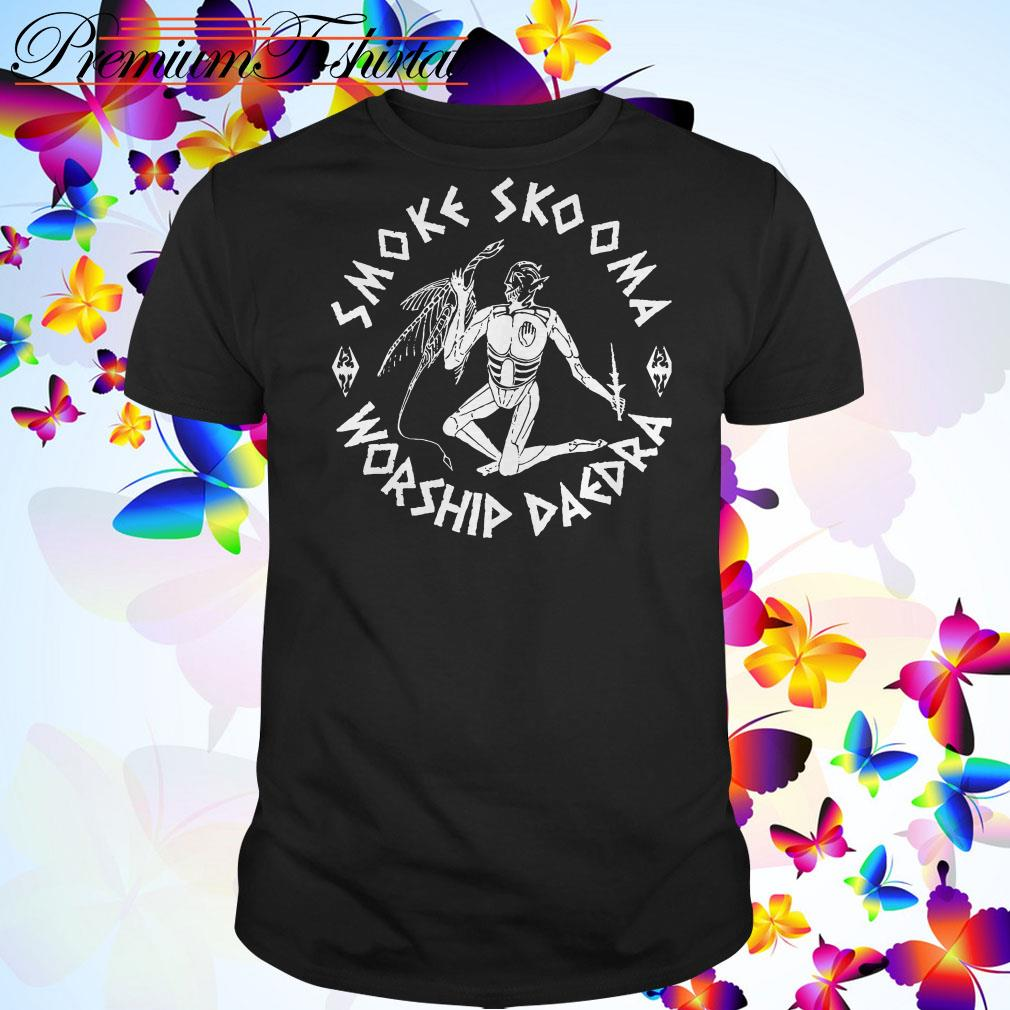 Smoke skooma worship Daedra shirt