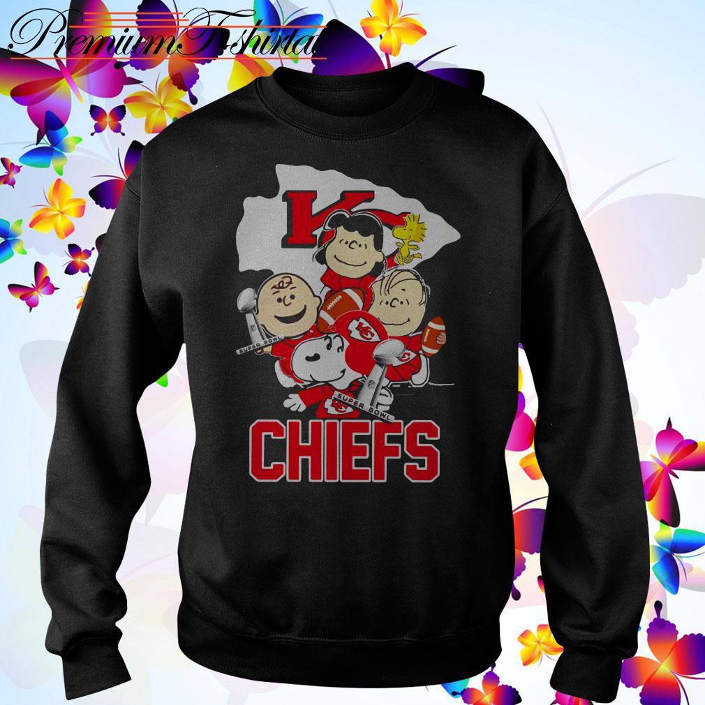 Snoopy with Friends Kansas City Chiefs Super Bowl NFL Sweater