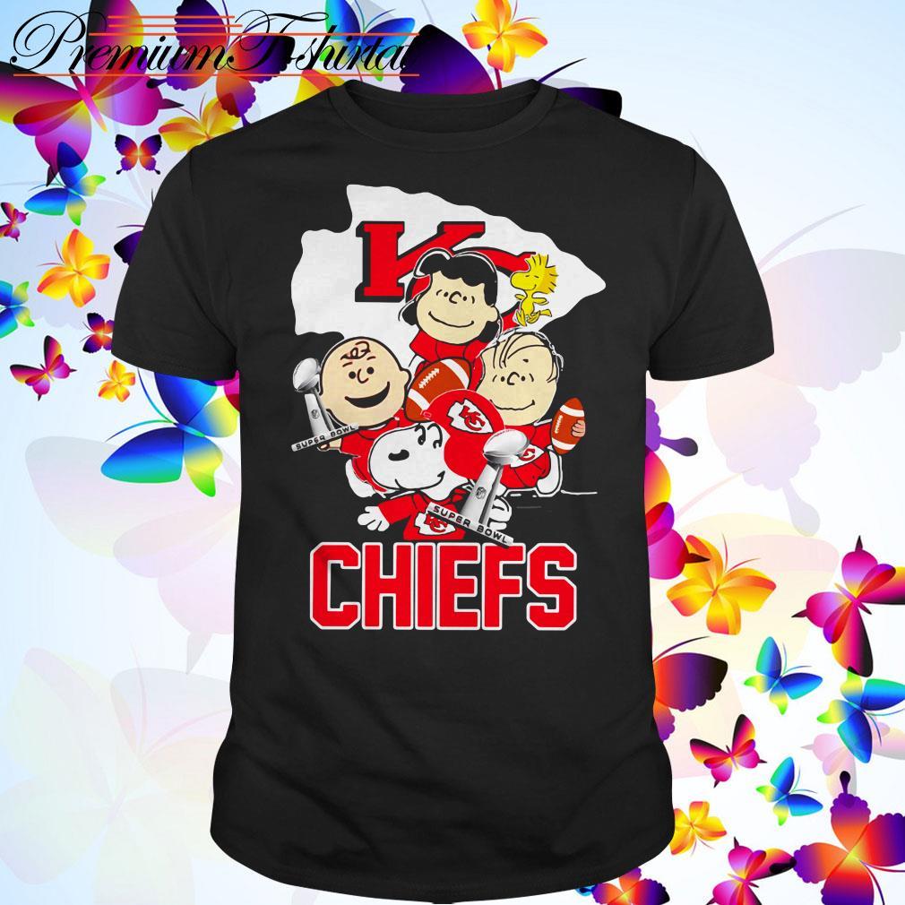 Snoopy with Friends Kansas City Chiefs Super Bowl NFL shirt