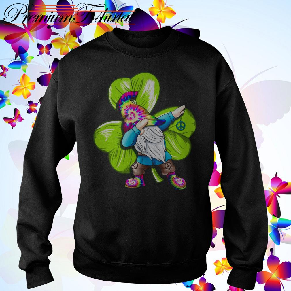 St Patrick's day hippie gnome dabbing Sweater