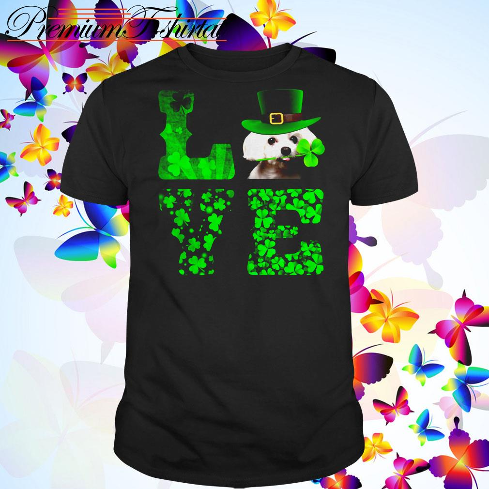 St. Patrick's day Maltese Love shirt