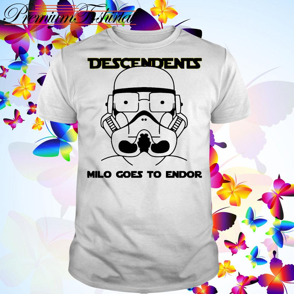 Stormtrooper Descendents milo goes to endor shirt