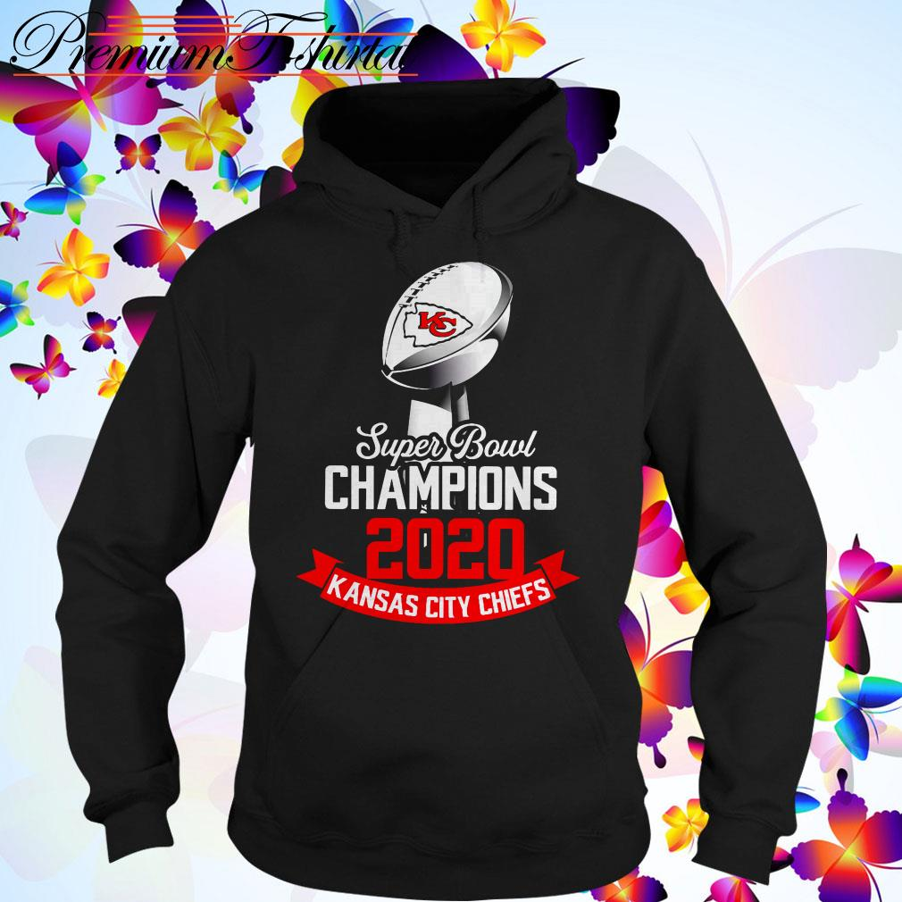 Super Bowl Champions 2020 Kansas City Chiefs Hoodie