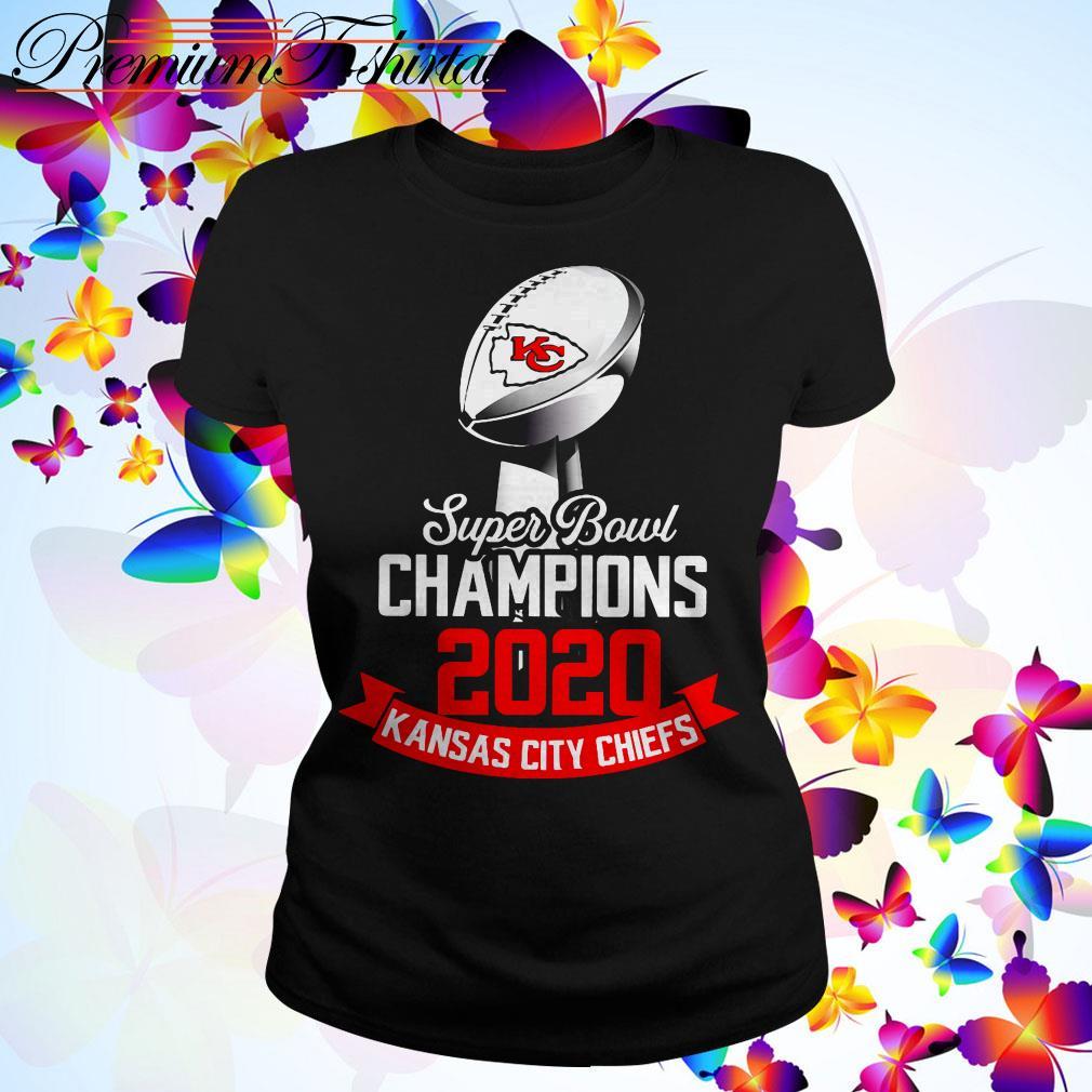 Super Bowl Champions 2020 Kansas City Chiefs Ladies Tee
