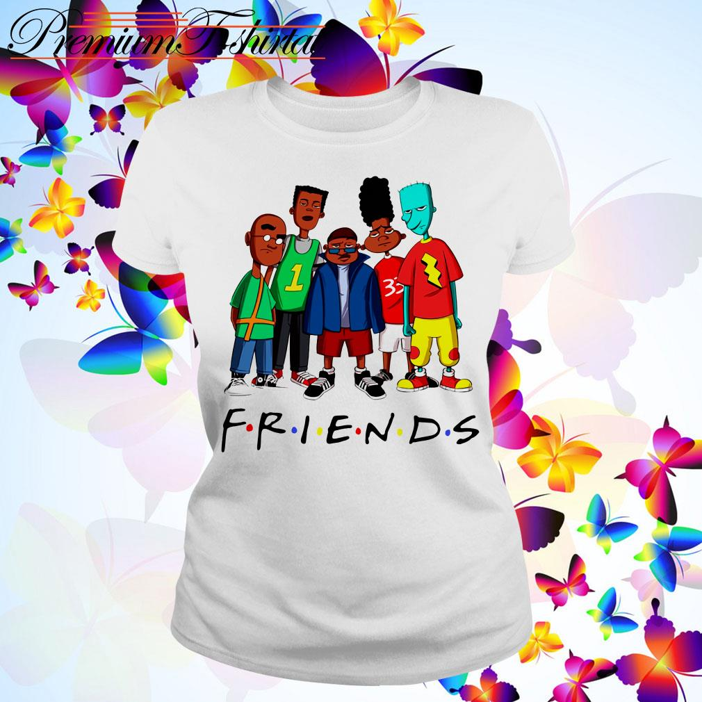 We Are Black Friends TV show Ladies Tee